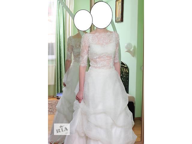 Симпатичное свадебное платье для худенькой невесты.- объявление о продаже  в Тернополе