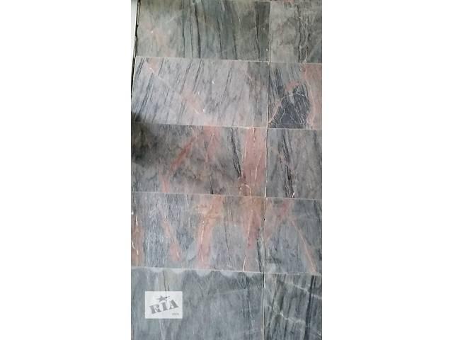 сине-розовый мрамор, мраморная плитка- объявление о продаже  в Павлограде