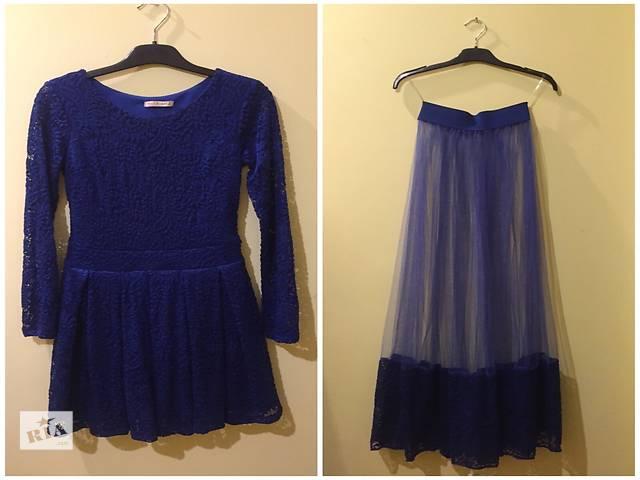 синее платье трансформер - объявление о продаже  в Ивано-Франковске