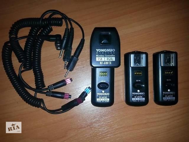 Синхронизатор Yongnuo RF-602/N 1 передатчик + 3 радиоприёмника- объявление о продаже  в Киеве