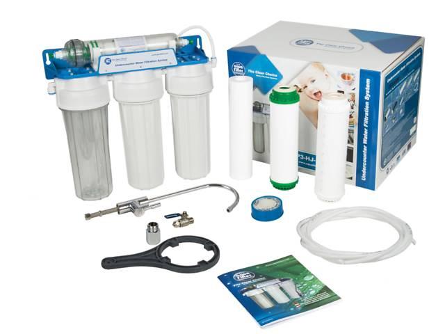 бу Система фильтрации воды с УФ мембраной Aquafilter FP3-HJ-K1 в Ивано-Франковске