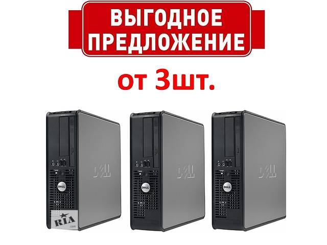 бу Системные блоки DELL OPTIPLEX 745 SFF DUAL-CORE 2.6GHZ / 3Gb RAM в Киеве