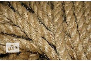 Сизалевая веревка 6-18мм