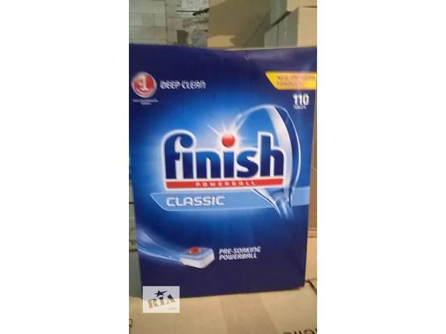 купить бу Таблетки для посудомоечной машины Finish 110шт в Ужгороде