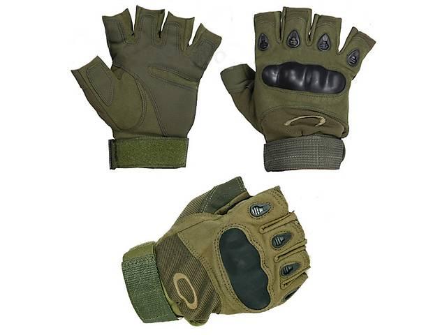 продам Тактические перчатки Oakley (Беспалый). - Khaki бу в Киеве