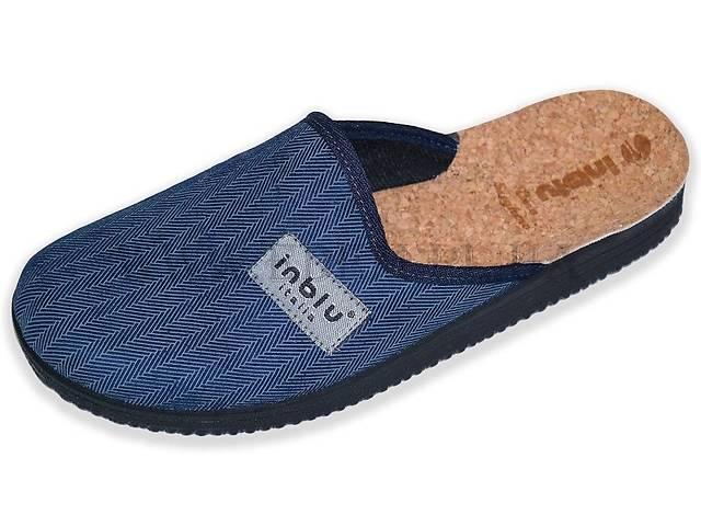 купить бу Тапочки мужские Inblu 28-3Q синие в Полтаве