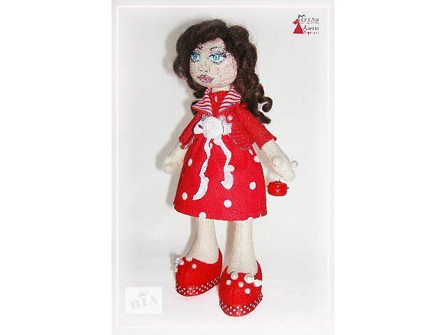 Текстильная кукла Софочка. Ручная работа.- объявление о продаже  в Херсоне