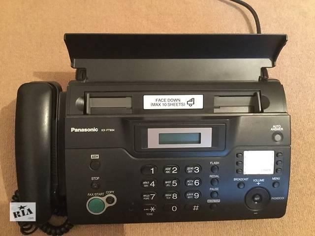 бу Телефон-факс Panasonic KX-FT934UA в Николаеве