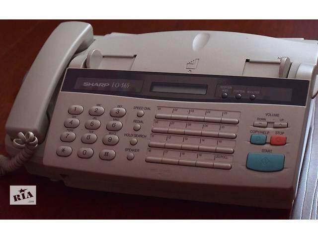 купить бу Телефон-Факс SHARP FO-365 [FO365] ВЫГОДНАЯ ЦЕНА! + Подарок! в Ужгороде