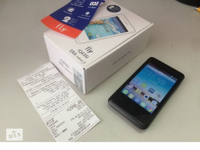 Телефон Fly IQ436i оригинал- объявление о продаже  в Киеве