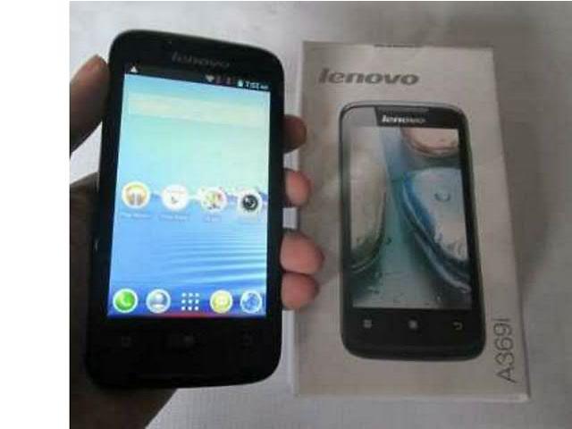 купить бу Смартфон Lenovo A 369i на 2 сим карты оргинал в Киеве