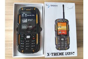 Новые Мобильные с QWERTY-клавиатурой Sigma Sigma mobile X-treme DZ67 Travel