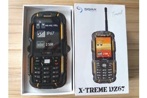 Новые Мобильные с QWERTY-клавиатурой Sigma Sigma mobile X-treme DZ67 Travel