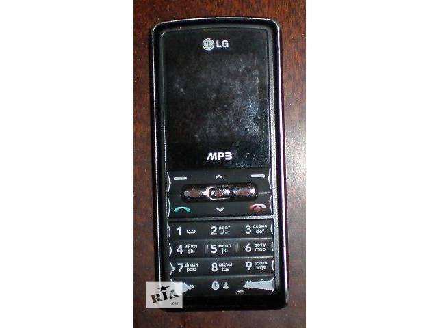 Телефон LG KP110 + зарядка- объявление о продаже  в Гнивани