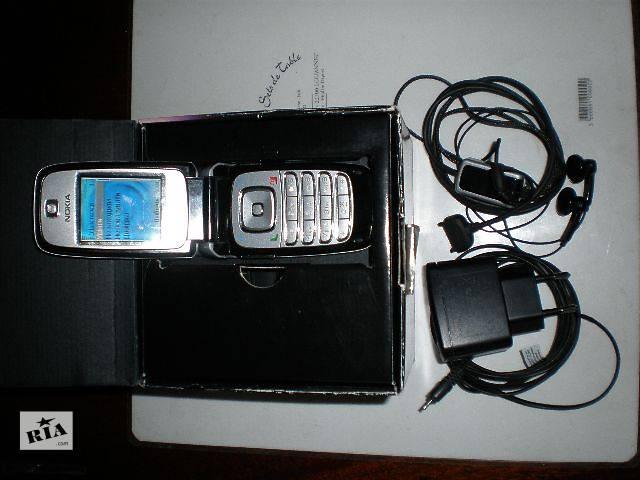 бу Телефон Nokia 6102i + оригинальные гарнитура и зарядка в Виннице