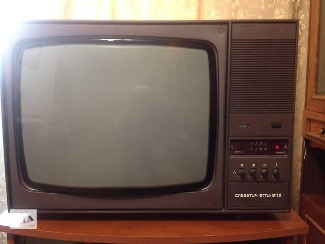 """Телевизор """"Славутич"""" цветной с пультом- объявление о продаже  в Умани"""