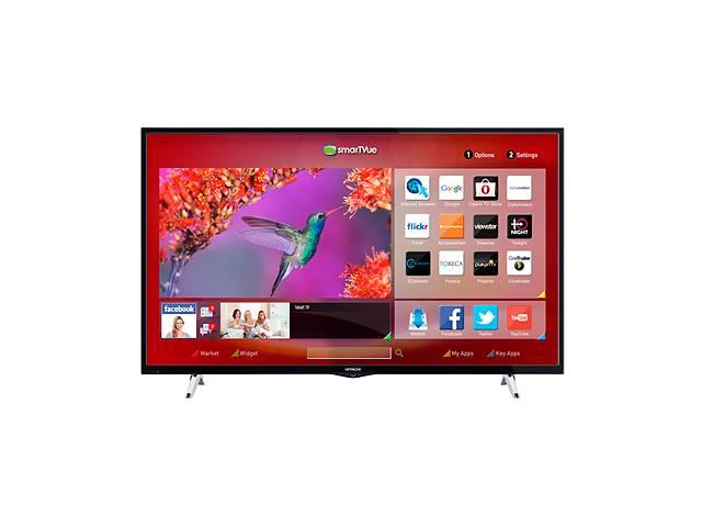 купить бу Телевизор Hitachi 55HB6W62 (FullHD, T2.Smart TV, WiFi) в Нововолынске
