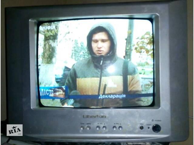 продам телевизор Liberton 37см бу в Киеве