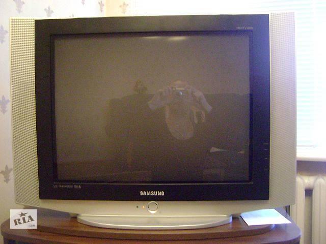 купить бу Телевизор Samsung CS-29Z30HSQ + Домашний кинотеатр Samsung HT-TX22 в Подольске (Котовске)
