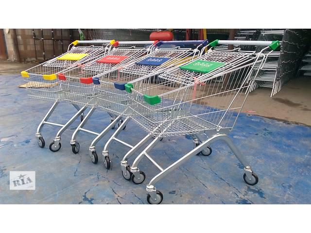 купить бу Тележка для супермаркета в Киеве