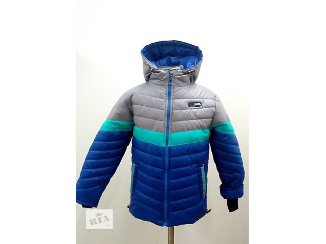 продам Теплая демисезонная куртка на мальчика, р.26-34 бу в Одессе