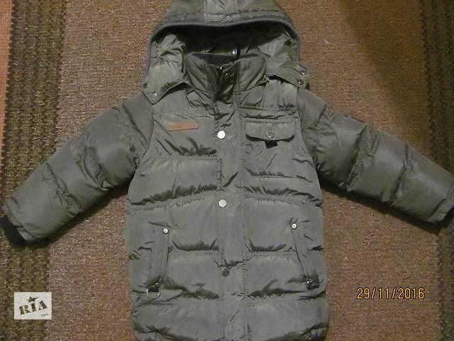 Теплая куртка для мальчика, состояние идеальное!!! на 3-4 года- объявление о продаже  в Луцке