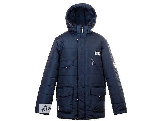 купить бу Теплая стильная зимняя куртка с подстежкой для подростков,р 34-44 в Киеве