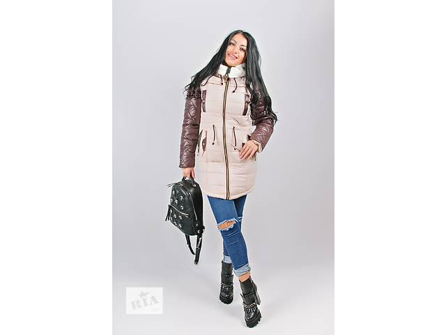 Теплая женская куртка на холлофайбере - объявление о продаже  в Хмельницком
