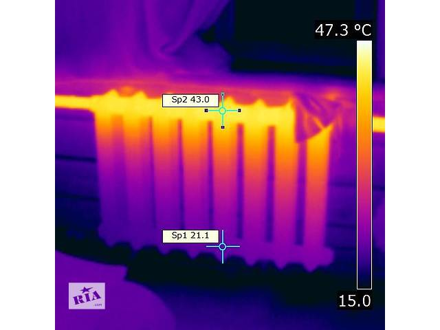 бу Тепловизор строительный, тепловая термо диагностика. в Запорожье