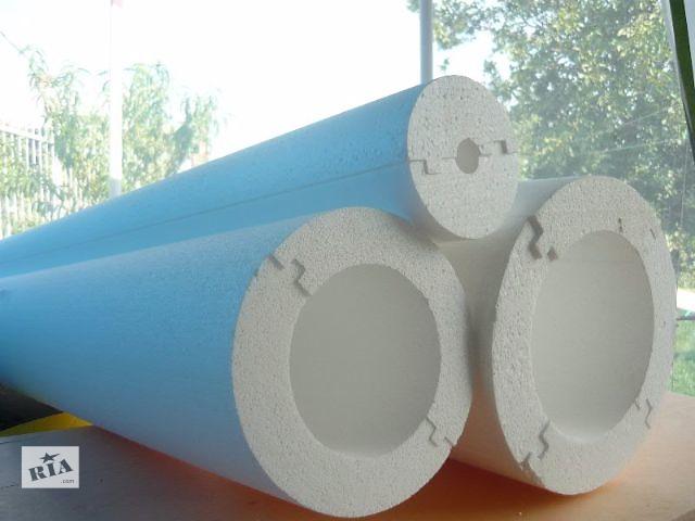 купить бу Теплоизоляция труб из пенопласта для больших наружных диаметров в Киеве