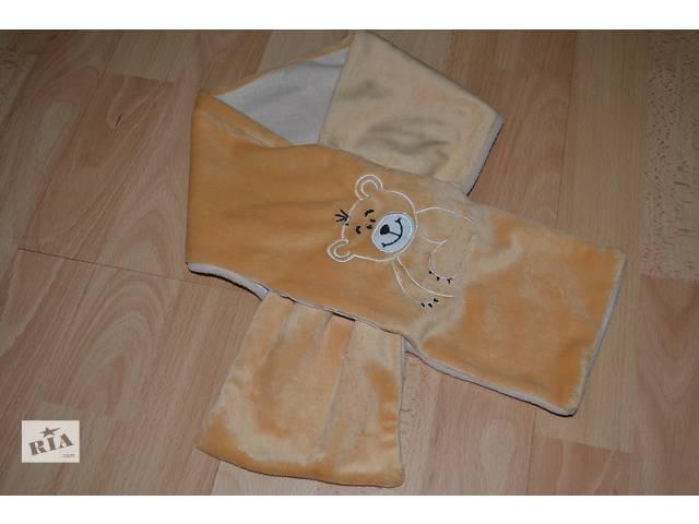 продам Теплый шарфик с мишкой бу в Маневичах