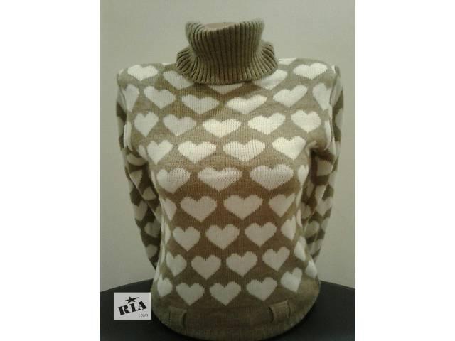 купить бу Тёплый свитер 70%акрил, 30% шерсть в Одессе