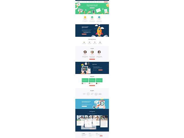 купить бу Срочно продам готовый сайт под любую тематику с моб. версией! в Ивано-Франковске