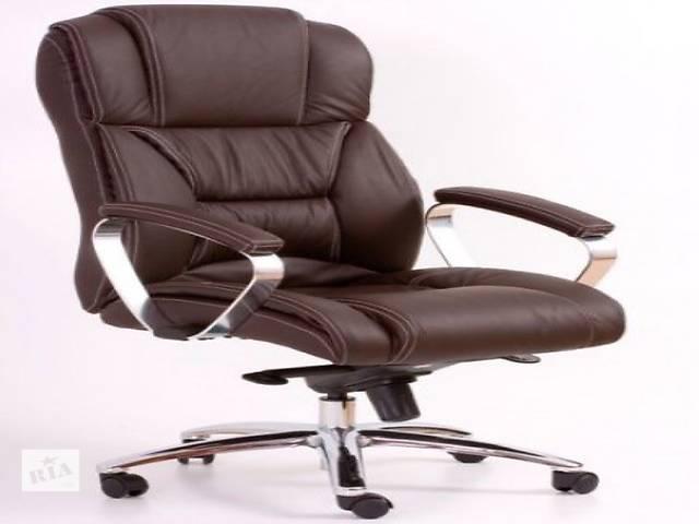 купить бу Срочно!Кожаное офисное кресло Foster польской фирмы Halmar в Червонограде