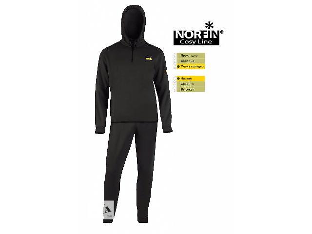 купить бу Термобелье Norfin Cosy Line черное (30071) в Виннице