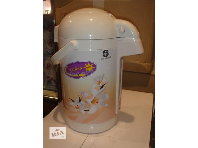 купить бу Термопот (термос-чайник) MISUSHITA KP-25-S 2,5 литра в Харькове