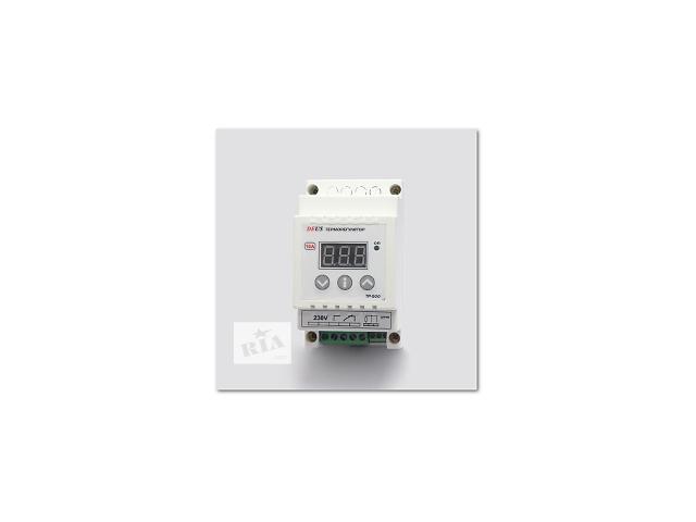 Терморегулятор (термореле) цифровой высокотемпературный на DIN-рейку- объявление о продаже  в Днепре (Днепропетровск)