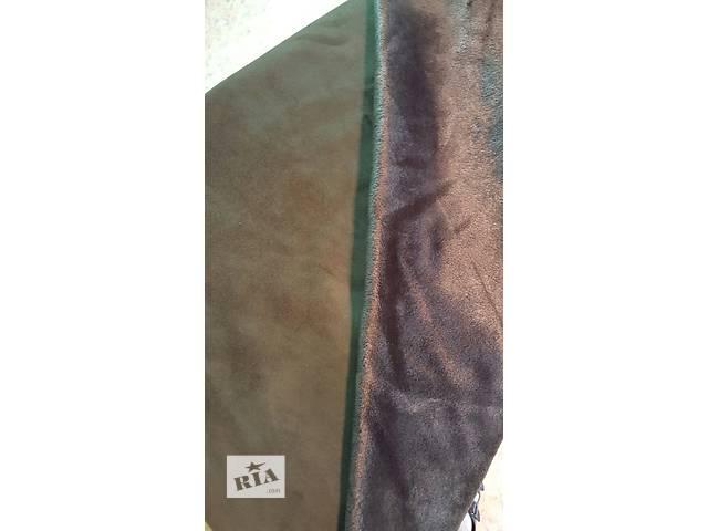 продам ткань мех-замш бу в Луганске