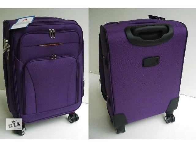 бу Тканевые чемоданы - четырёхколесные. Много цветов в Виноградове