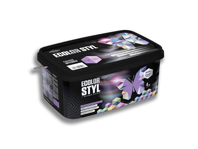 продам Тонированная акриловая стойкая к мытью, экстра-кроющая краска Ecolor Styl  бу в Львове