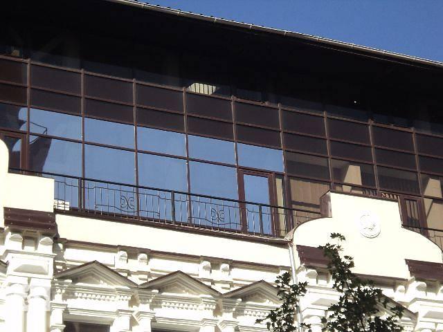 Тонировка стеклопакетов, зеркальная тонировка, солнцезащитная тонировка, тонировка зданий, бронирование окон (Днепропетр- объявление о продаже  в Днепре (Днепропетровск)