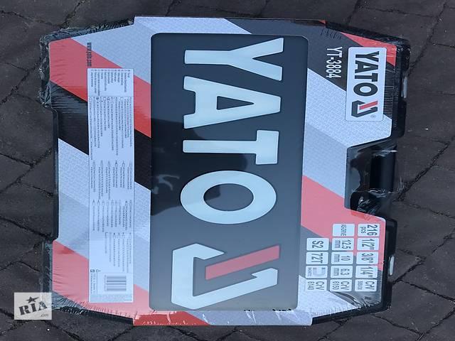 продам Набор инструмента YATO 3884 216 pcs Актуальна ціна! бу в Мостиській
