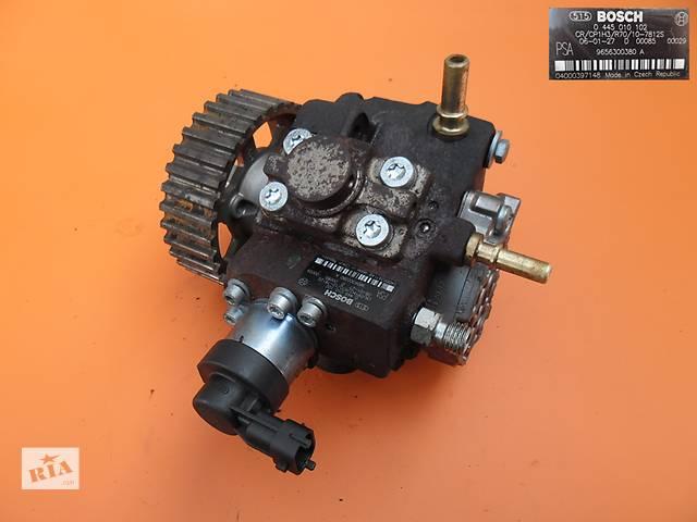 купить бу Топливный насос на Peugeot Expert 1.6 hdi. ТНВД к Пежо Експерт 0445010102 в Ковеле