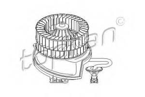 Вентилятор рад кондиционера Mercedes