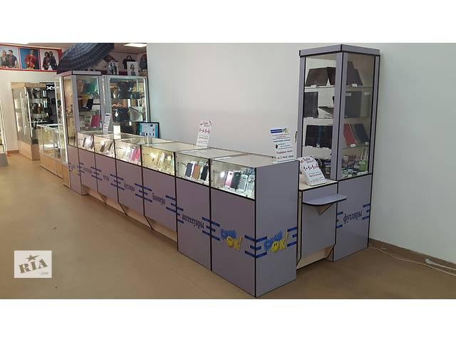 Торговое оборудование, витрины, шкафы. Торговый островок.- объявление о продаже  в Киеве