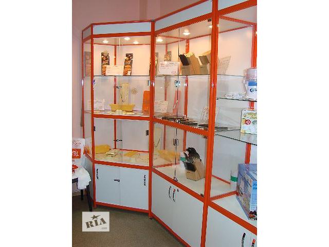 продам Торговые витрины и прилавки бу в Запорожье