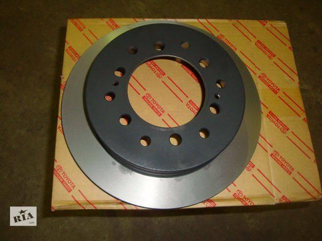 купить бу Тормозная система Тормозной диск Легковой Toyota Land Cruiser Prado 120 2008 в Киеве