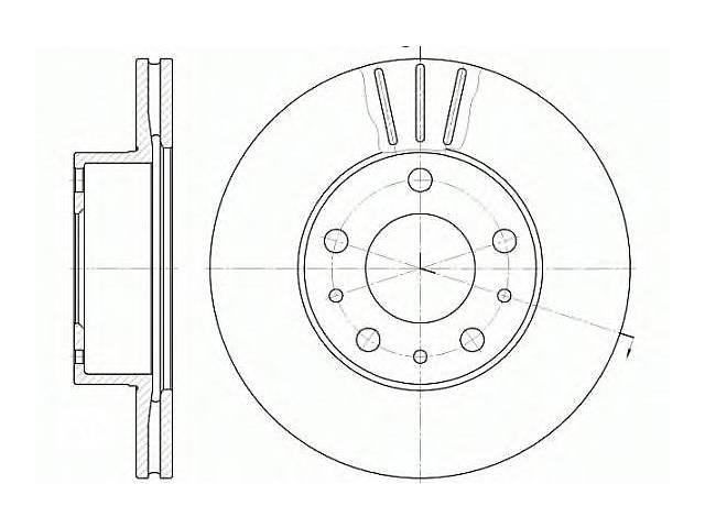 продам  Тормозной диск передний для легкового авто CITROEN FIAT PEUGEOT Jumper 29-33 Ducato 11-15 B бу в Черновцах