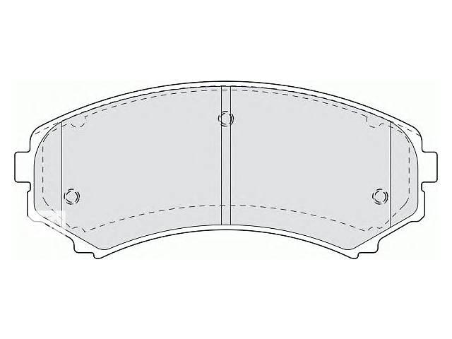 Тормозные колодки комплект для авто MITSUBISHI PAJERO 00-- объявление о продаже  в Черновцах