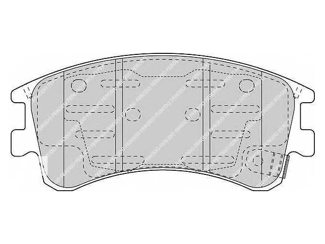 бу  Тормозные колодки комплект для легкового авто MAZDA 6 02- в Черновцах